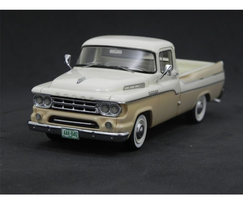 1959 DODGE D100 SWEPTSIDE PICKUP 1/43 NEO44840