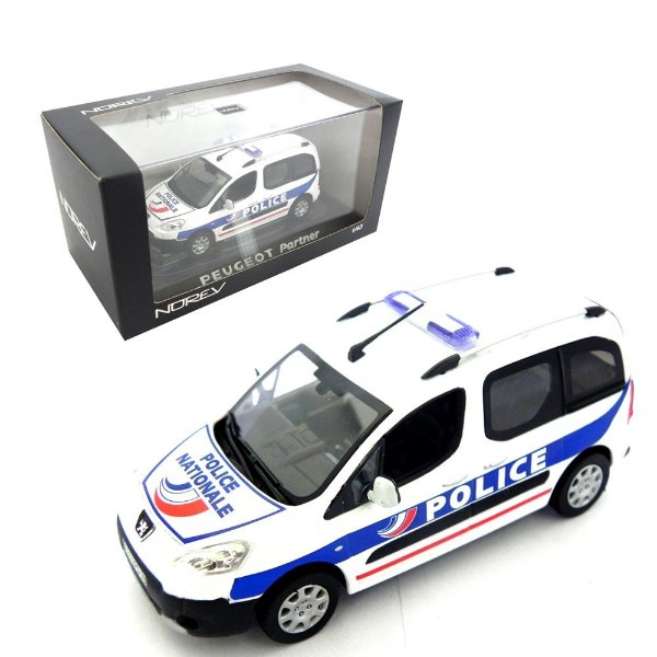 PEUGEOT PARTNER POLICE NATIONALE 1/43 NOREV 479829