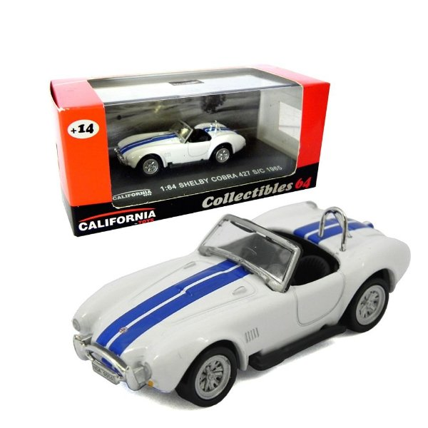 1965 SHELBY COBRA 427 S/C 1/64 CALIFORNIA COLLECTIBLES 64