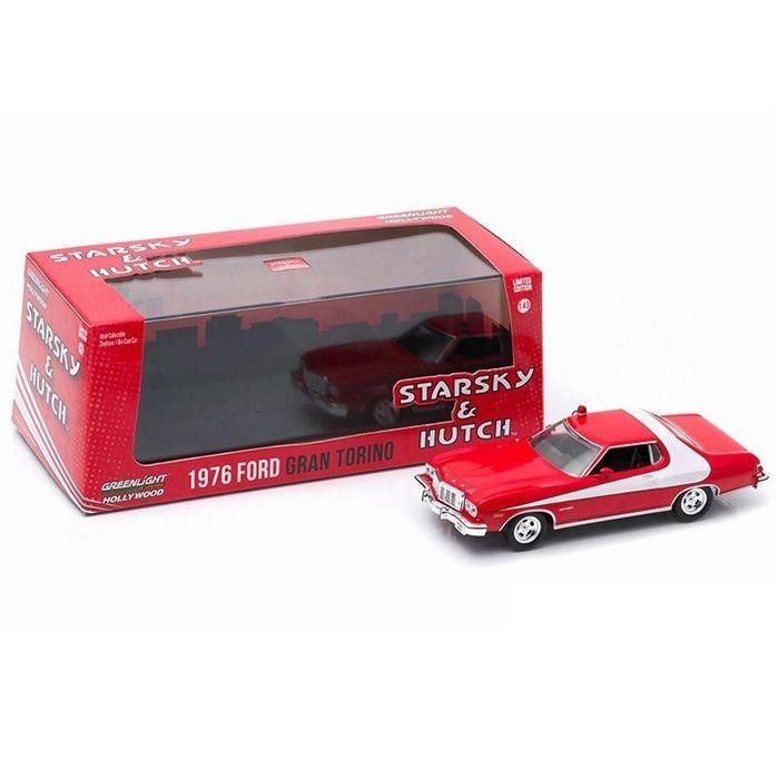 1976 Ford Gran Torino Starsky & Hutch 1/43 Greenlight Hollywood 86442