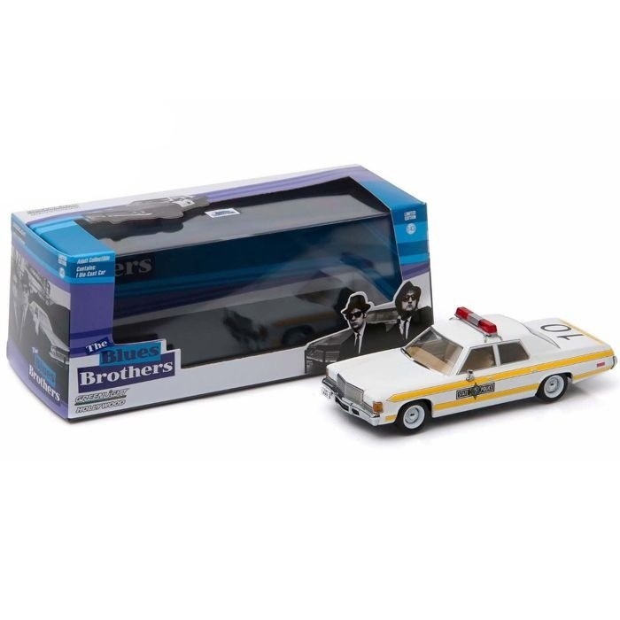 1977 DODGE ROYAL MONACO ILLINOIS STATE  THE BLUES BROTHERS 1/43 GREENLIGHT HOLLYWOOD 86424