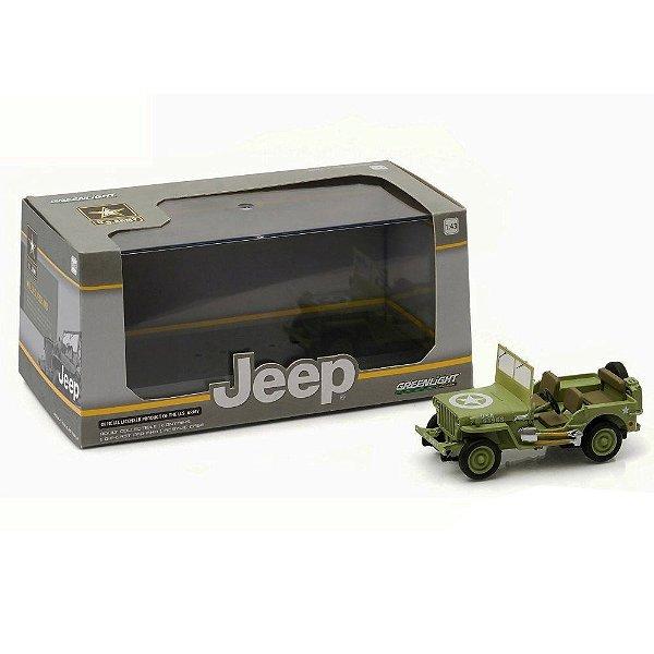 JEEP WILLYS MB U.S. ARMY 1/43 GREENLIGHT 86307