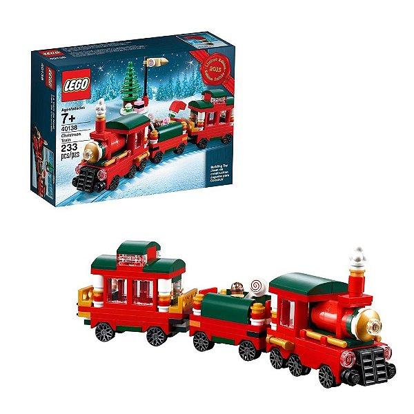 TREM CHRISTMAS TRAIN 2015 LEGO LEGO40138