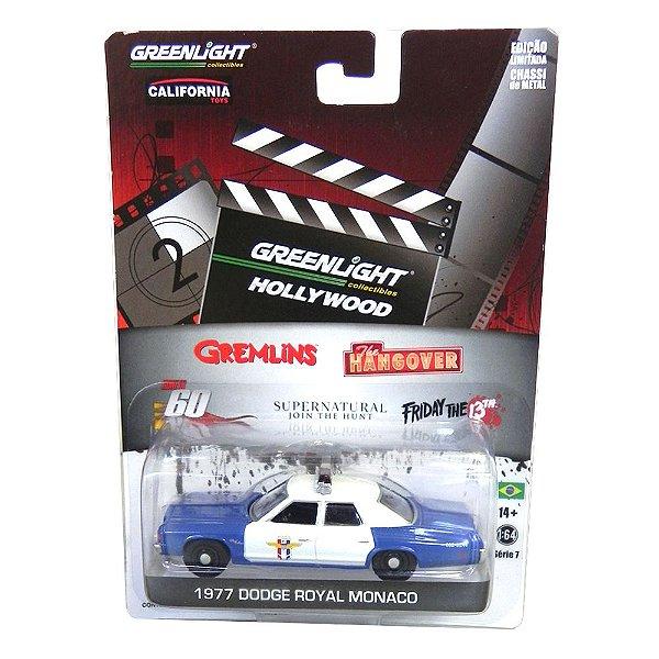 1977 Dodge Royal Monaco Friday The 13Th 1/64 Greenlight Hollywood Serie 7 44670-X