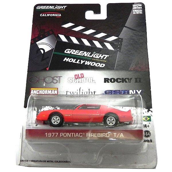 1977 Pontiac Firebird T/A Frank´S Old School Dias Incríveis 1/64 Greenlight Hollywood Serie 5 44650-X
