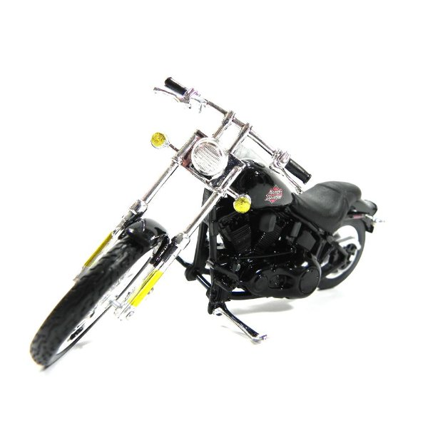 MOTO HARLEY-DAVIDSON 2002 FXSTB NIGHT TRIAN 1/18 MAISTO MAI31360AB