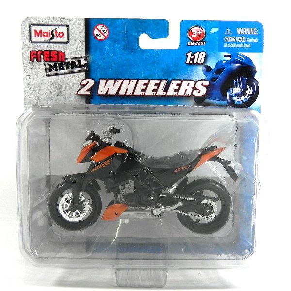 MOTO KTM 640 DUKE 1/18 MAISTO 2 WHEELERS MAI10301