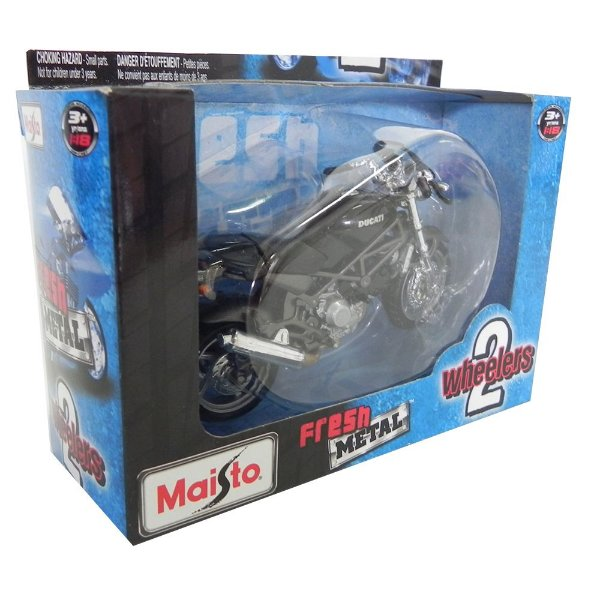 MOTO DUCATI MONSTER 600 1/18 2 WHEELERS MAISTO 31300