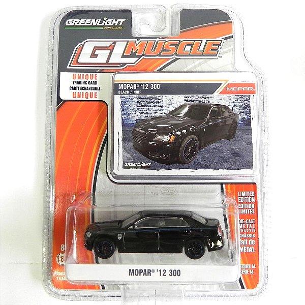 2012 Chrysler Mopar ´12 300 1/64 Greenlight Gl Muscle Série 14