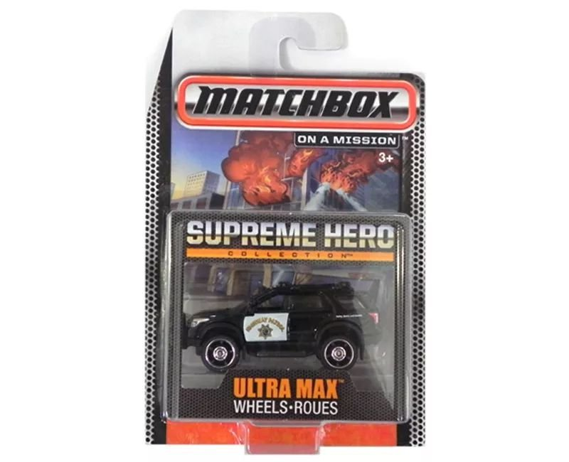 FORD EXPLORER ULTRA MAX WHEELS ROUES SUPREME HERO COLLECTION 1/64 MATCHBOX MATCHCGF91-0814