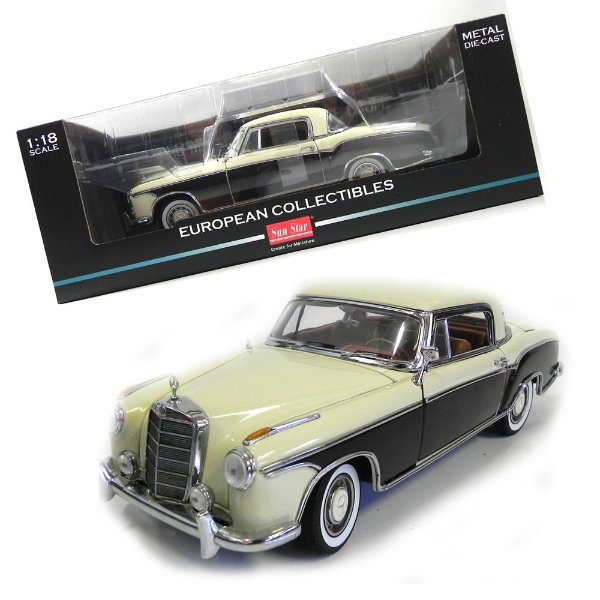 1958 Mercedes-Benz 220Se Coupe 1/18 Sun Star 3566 Sun3566