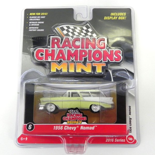 1956 Chevrolet Nomad 1/64 Johnny Lightning Racing Champions Mint Release 1 Rc001