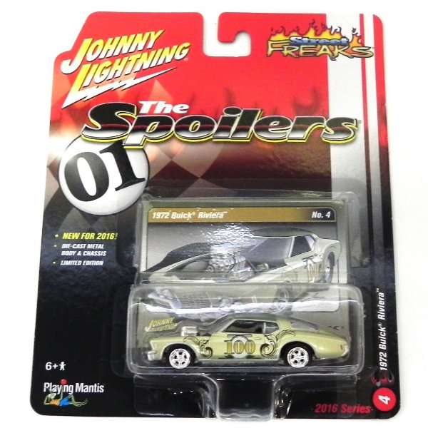 1972 Buick Riviera 1/64 Johnny Lightning Street Freaks The Spoilers Release 1 Jlsf001