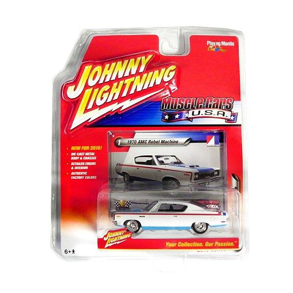 1970 Amc Rebel Machine 1/64 Johnny Lightning Muscle Cars Usa Release 1 Jlmc001
