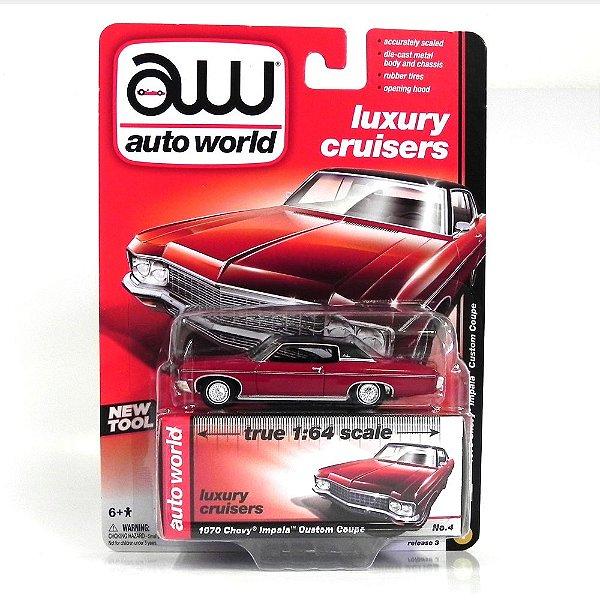 1970 Chevrolet Impala Custom Coupe 1/64 Auto World Aw64022