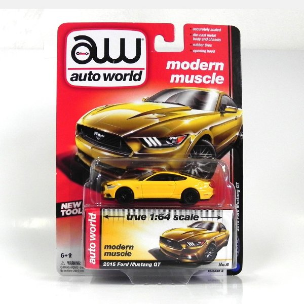 2015 Ford Mustang Gt 1/64 Auto World Aw64022