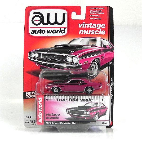 1970 Dodge Challenger T/A 1/64 Auto World Aw64032