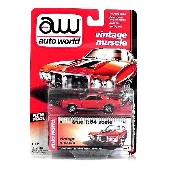 1969 Pontiac Firebird Trans Am 1/64 Auto World Aw64002