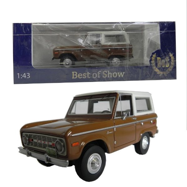 1970 Ford Bronco 1/43 Best Of Show 198304 Bos43605