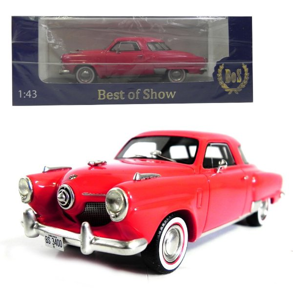 1951 STUDEBAKER CHAMPION STARLIGHT COUPE 1/43 BEST OF SHOW 200872 BOS43400