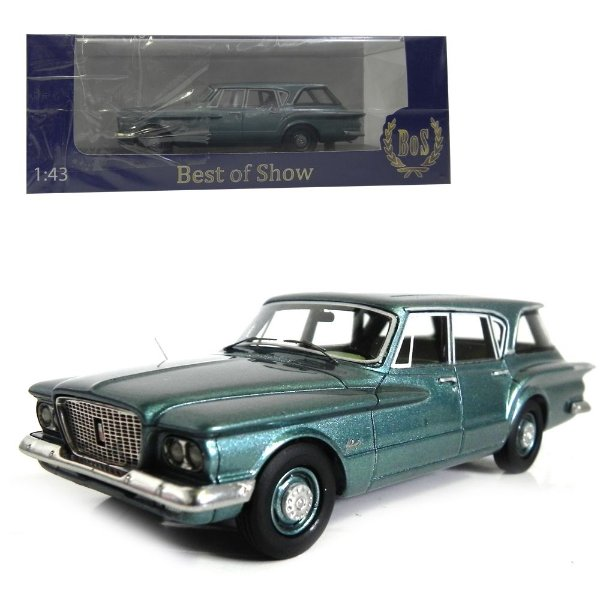 1960 Plymouth Valiant Station Wagon 1/43 Best Of Show 193837 Bos43065