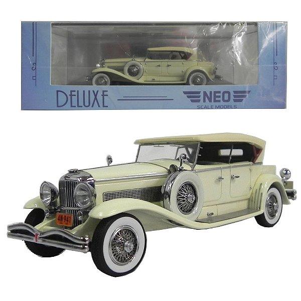 1930 Duesenberg Model J Tourster Derham 1/43 Neo Scale Models 185857 Neo45941