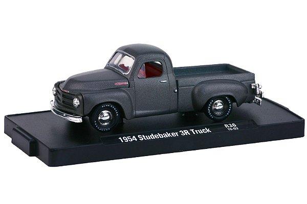 1954 STUDEBAKER 3R TRUCK 1/64 M2 MACHINES 11228 RELEASE 36 AUTO-DRIVERS M2M11228-36H
