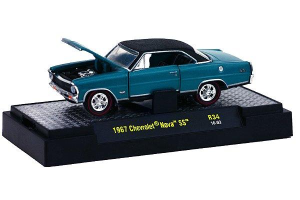 1967 Chevrolet Nova Ss 1/64 M2 Machines 32600 Release 34 Detroit-Muscle M2M32600-34H