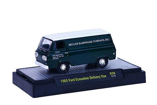 1965 Ford Econoline Delivery Van 1/64 M2 Machines 32500 Release 36 Auto-Trucks M2M32500-36H