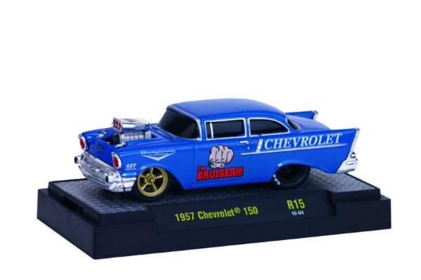 1957 Chevrolet 150 1/64 M2 Machines 82161 Release 15 Ground Pounders M2M82161-15H