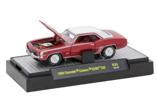 1969 Chevrolet Camaro Ss/Rs 350 1/64 M2 Machines 32600 Release 35 Detroit-Muscle M2M32600-35H