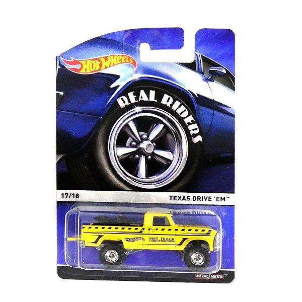 TEXAS DRIVE EM 1/64 HOT WHEELS HOTCFN96-D7104LB