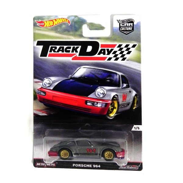 PORSCHE 964 1/64 HOT WHEELS TRACK DAY HOTDJF93-L5104LB