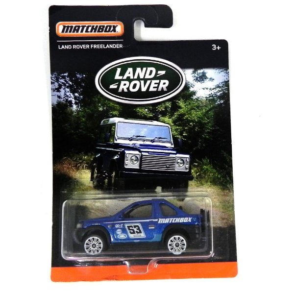 Land Rover Freelander 1/64 Matchbox Matchdpt06-0910