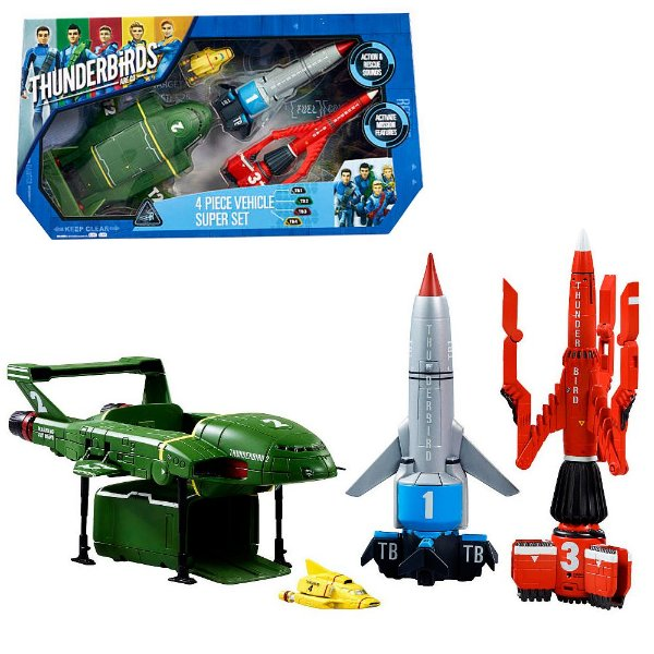 THUNDERBIRDS ARE GO VEHICLE SUPER SET 4 (TB1 TB2 TB3 TB4) VIVID 90294.2500