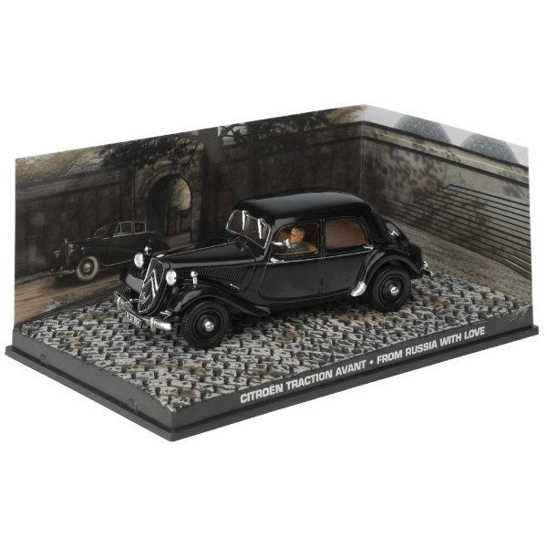Citroen Traction Avant From Russia With Love Moscou Contra 007 1/43 Ixo