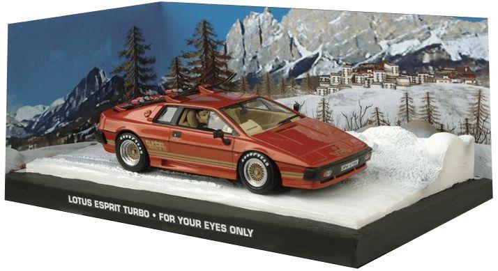 Lotus Esprit Turbo Laranja For Your Eyes Only 007 Somente Para Seus Olhos 1/43 Ixo