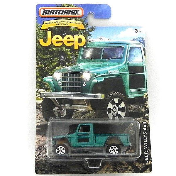Jeep Willys 4X4 Rural 1/64 Matchbox Jeep Matchdmn26-Cd10