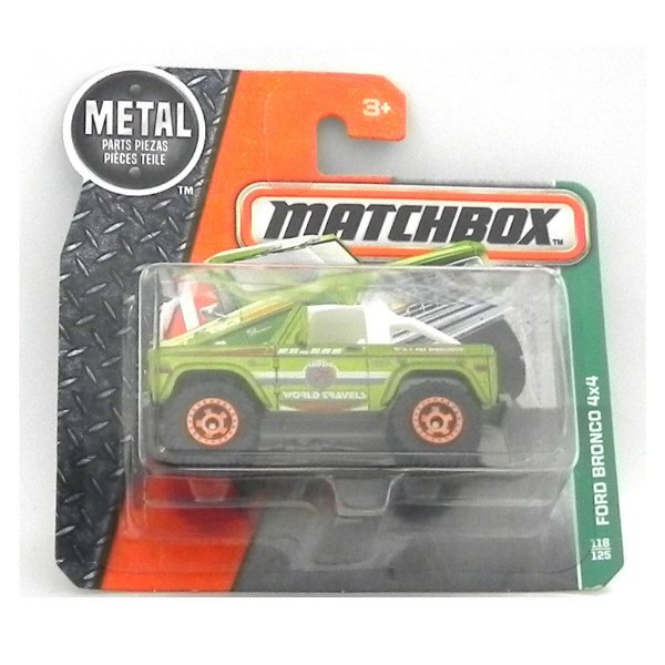 1972 FORD BRONCO 4X4 1/57 MATCHBOX MATCHDMH02-CD10