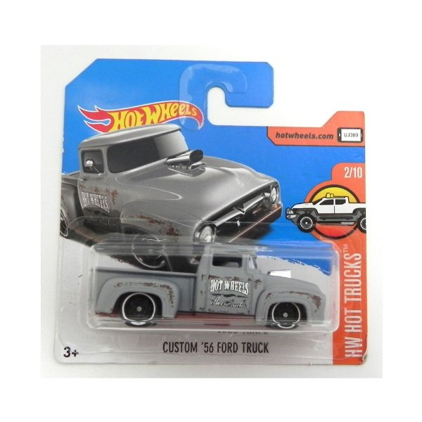 Custom 56 Ford Truck 1/64 Hot Wheels Hw Hot Trucks Hotdtx35-D5B6