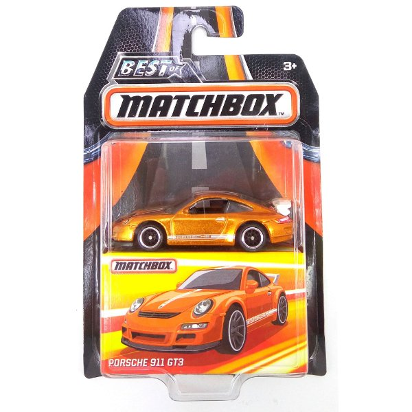 PORSCHE 911 GT3 1/64 BEST OF MATCHBOX