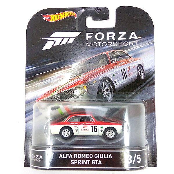 ALFA ROMEO GIULIA SPRINT GTA FORZA MOTORSPORT 1/64 HOT WHEELS