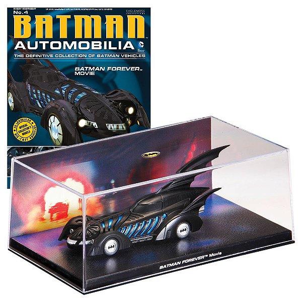 Batmovel do filme Batman Forever Automobilia 4 1/43 Eaglemoss