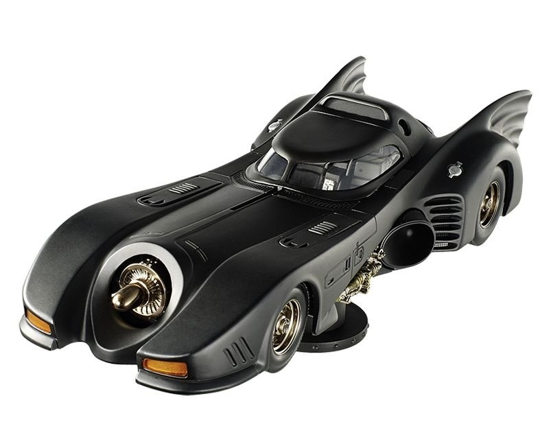 Batmovel Do Filme Batman O Retorno 1992  1/18 Hot Wheels Elite Bly24