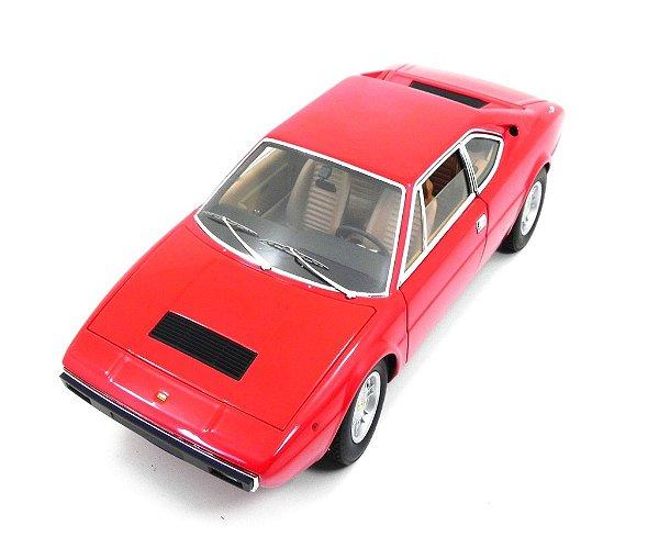 1973 FERRARI DINO 308 GT4 VERMELHA 1/18 HOT WHEELS ELITE X5482