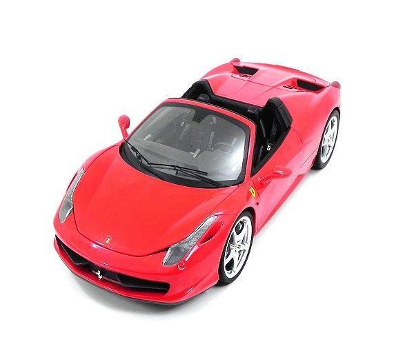 Ferrari 458 Spider Red 1/18 Hot Wheels Elite W1177