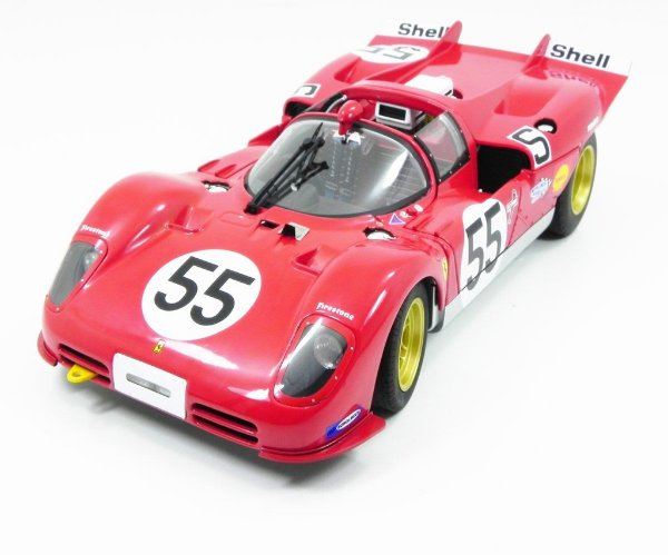 1970 FERRARI 512S 1000KM NURBURGRING HOT WHEELS ELITE 1/18 T6259
