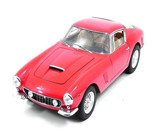 1961 FERRARI BERLINETTA 250 GT SWB PASSO CURTO VERMELHA 1/18 HOT WHEELS ELITE V8377