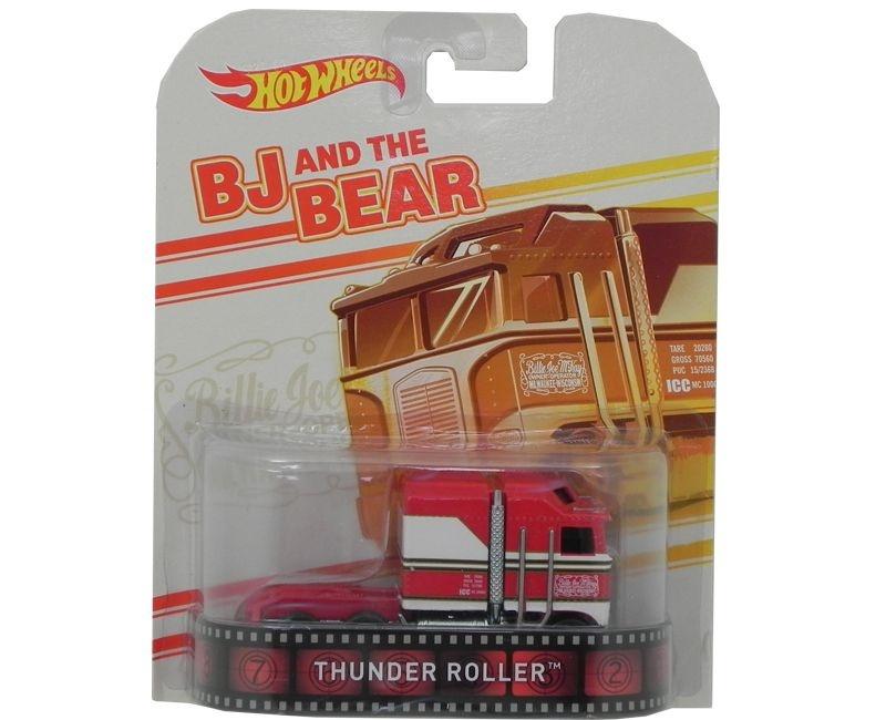 THUNDER ROLLER BJ AND THE BEAR 1/64 HOT WHEELS HOTBDT91-0718