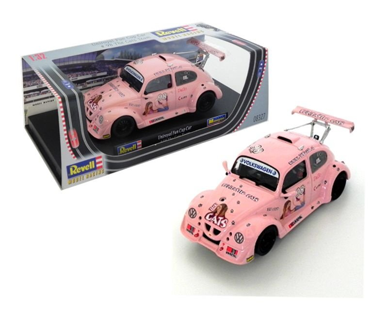 FUSCA UNIROYAL FUN CUP CAR #98 THE CATS TEAM 1/32 REVELL MONOGRAM MODEL RACING REV08327